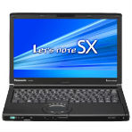 Panasonic Let'snote SX1 CF-SX1XEXHRの画像