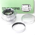 Voigtlander COLOR-SKOPAR 50mm F2.5 シルバーの画像
