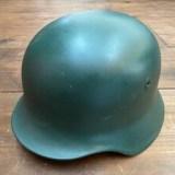 ドイツ連邦 BGS 国境警備隊 スティールヘルメット グリーン ミリタリーを買取りさせて頂きました。