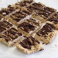 No Bake Peanut Butter Breakfast Bars