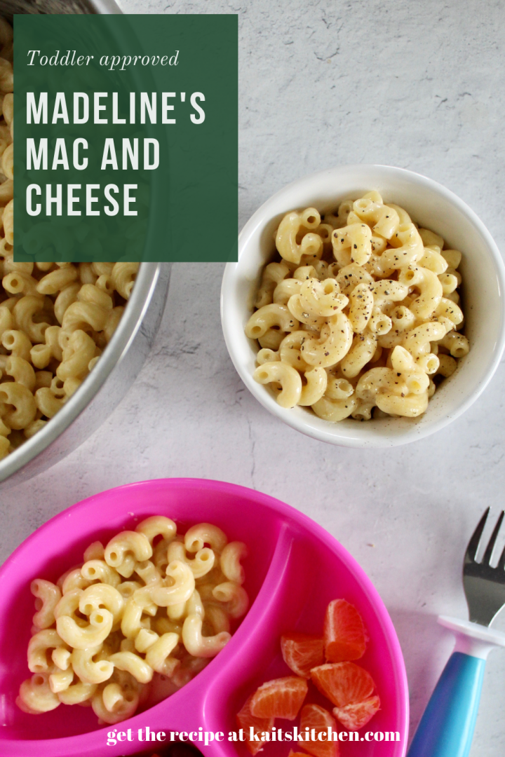 pinterest image for Mac and cheese