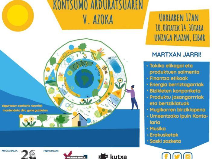 V Feria de Consumo Responsable de Eibar