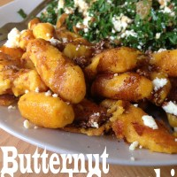 Autumn Expectations and Butternut Squash Gnocchi