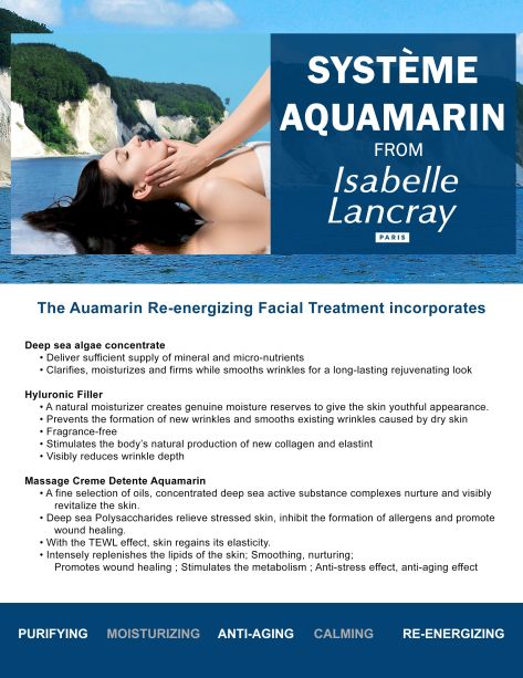 Aquamarin-Treatment