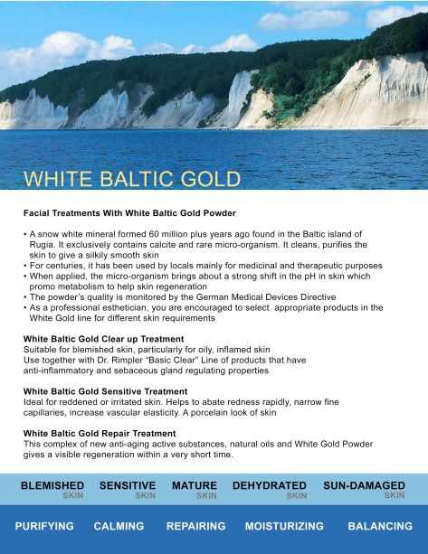 White Baltic Gold