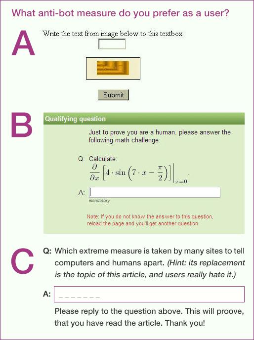 anti-bot-measure-quiz