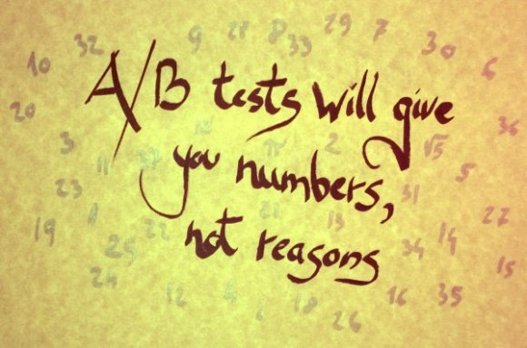 numbers not reasons