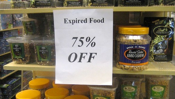 expired food 75% off