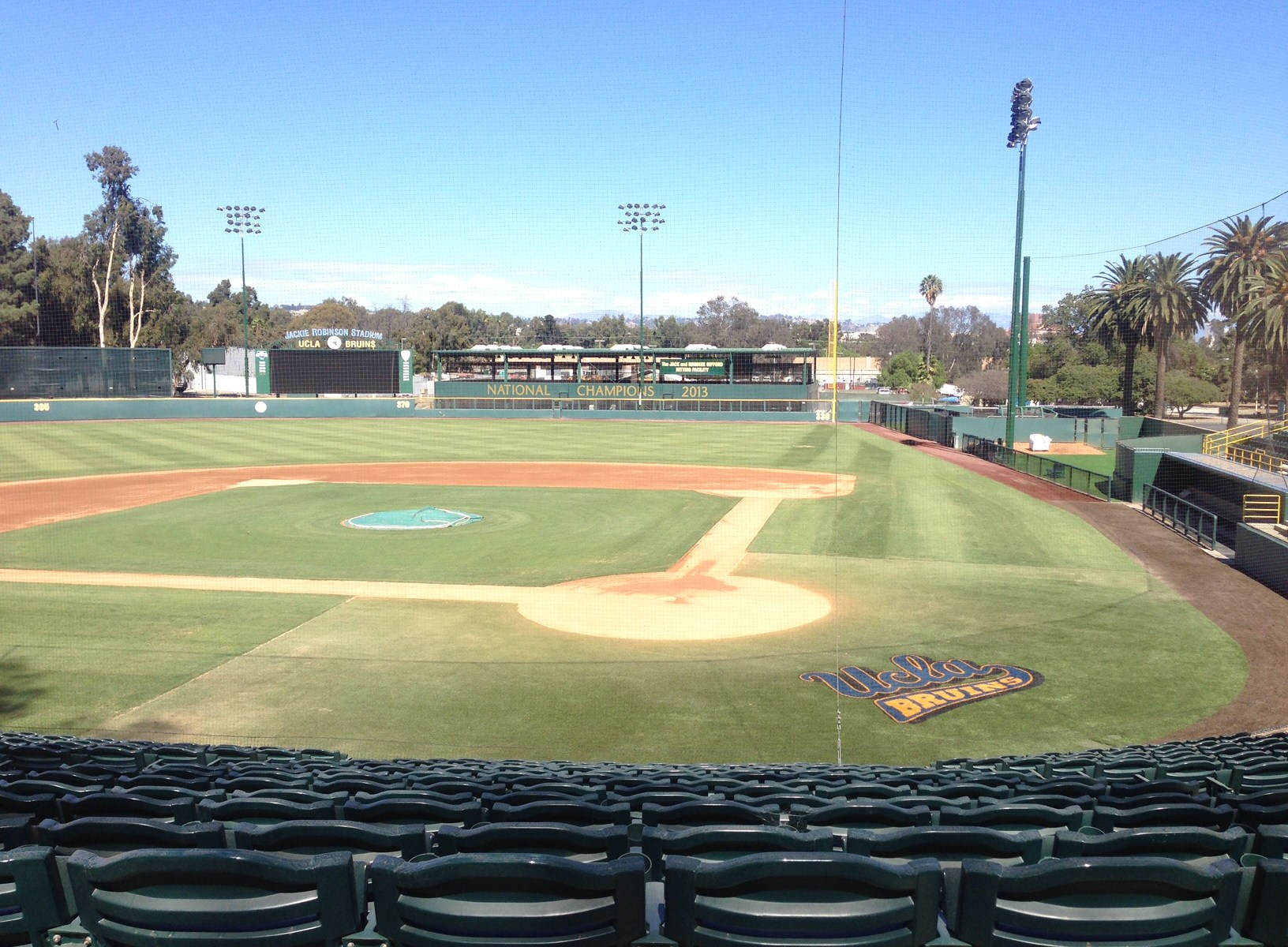 UCLA baseball field