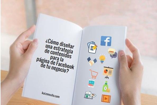 Estrategia de contenidos en página de Facebook