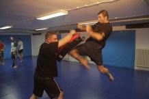 Tajlandski boks - Udarac kolenom