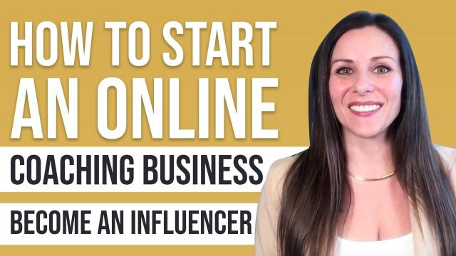How to Start an Online Coaching Business | BECOME AN ...