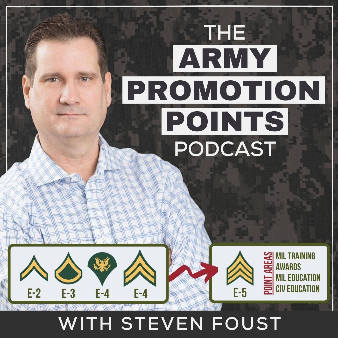 Army Promotion Points Worksheet