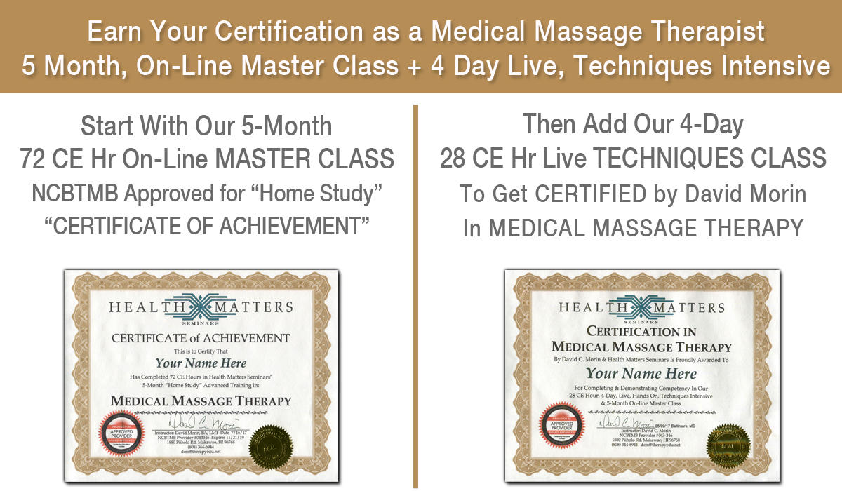 Advanced training in medical massage therapy health matters early early bird discount ends sept 13 xflitez Gallery