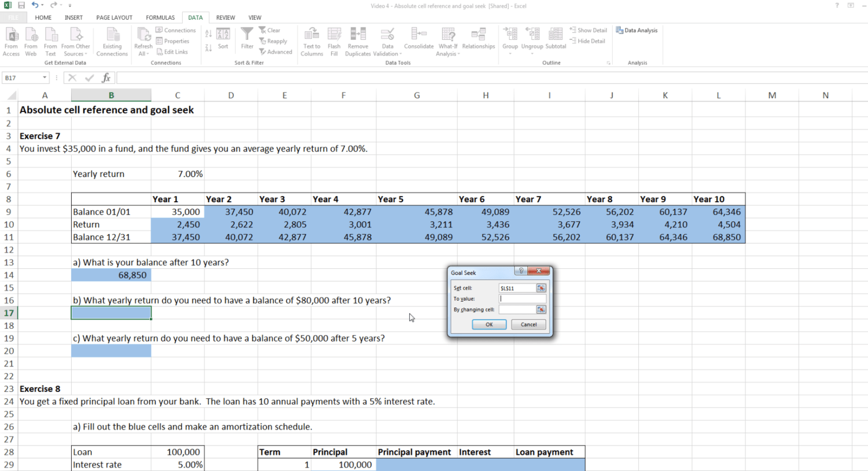 Excel Blueprint
