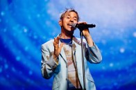 Limahl, on stage in Oslo