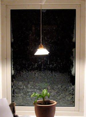 snö i Kollebäckstorp, hemma