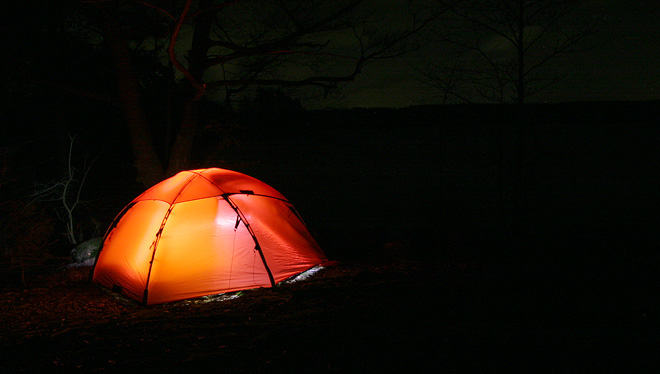 Hilleberg Allak, Rössjön, tältpremiär