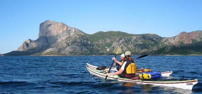 Rødøya på Helgelandskusten i Norge.
