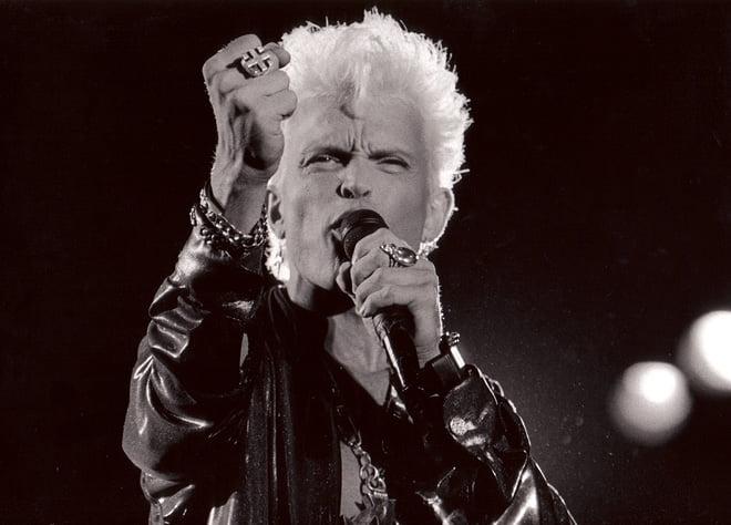 Billy Idol på Roskilde 1991
