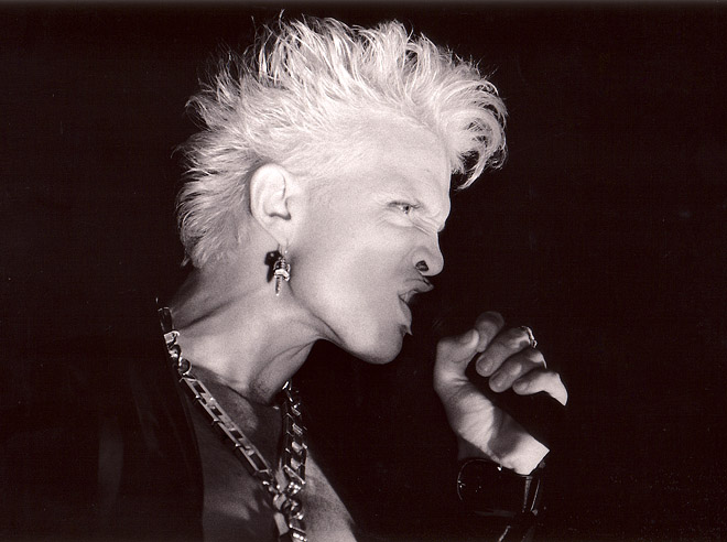 Billy Idol på Roskildefestvialen 1991