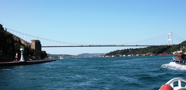 Eurasia...the waters of the bosphorus