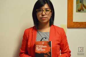 Nayeli Roldán reportera de Animal Político que colaboró en La travesía