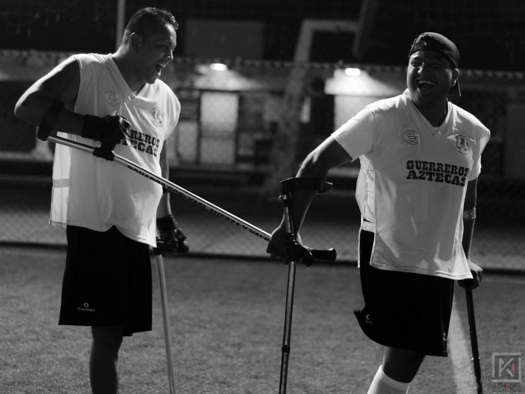Futbol de amputados - César Palma y Samuel Segura (4)