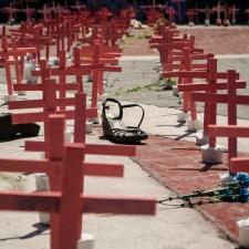 «¡Nos queremos vivas!», el reclamo en Ecatepec