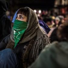 Argentina pone el ejemplo: la lucha política es personal