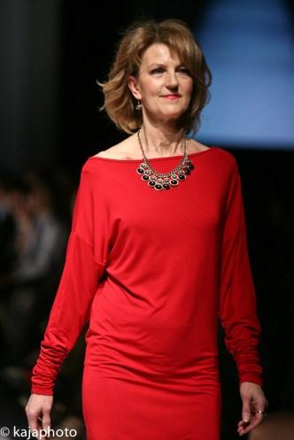 Joanne Schnurr of CTV wears Bernice and Barclay