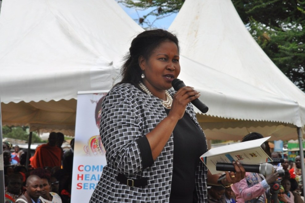 Health CECM Esther Somoire