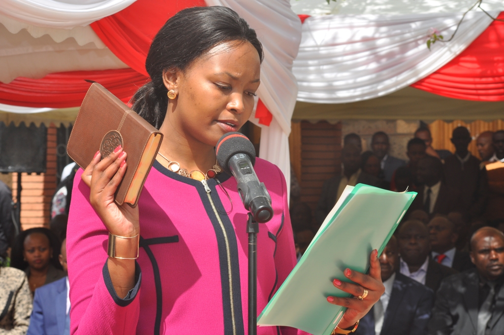 CECM Florence Waiganjo was water minister at the time.