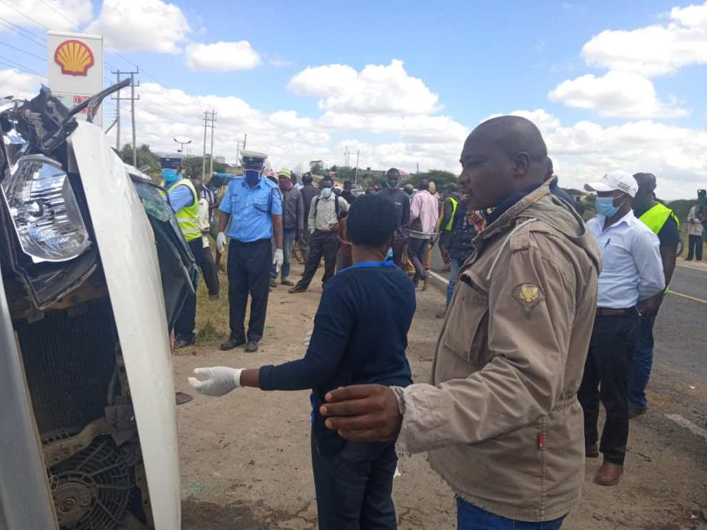 The Kajiado accident.