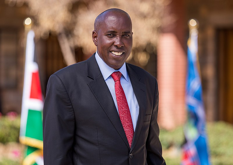 Governor Joseph ole Lenku. He says he is currently busy in ensuring his development agenda is driven to the desired end.