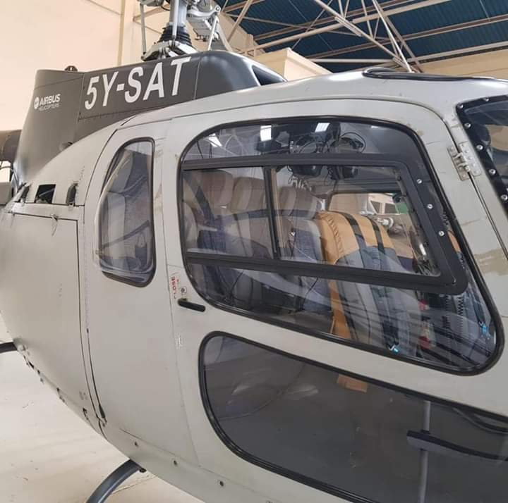 Sources close to Governor Joseph Lenku say he is planning to acquire a Eurocopter like this for his 2022 campaigns.
