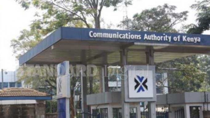 Communications Authority of Kenya headquarters in Nairobi.