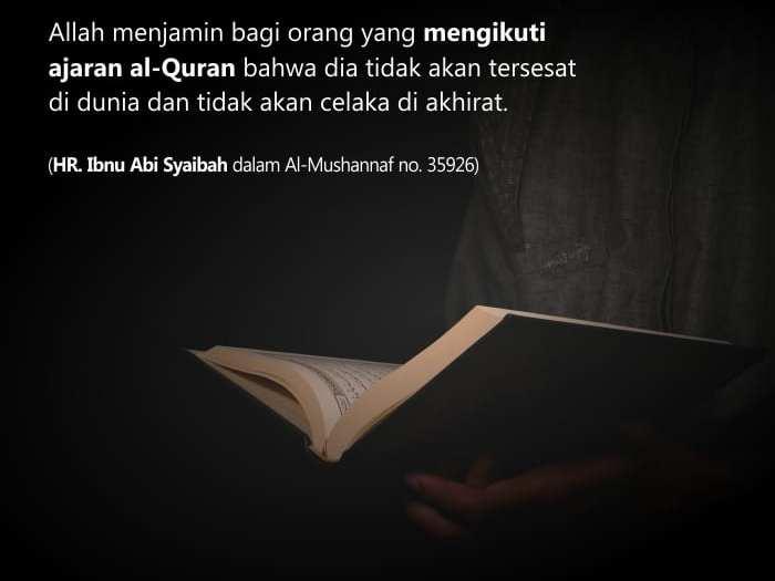 Al-Qur'an Sumber dan Penolong Pensucian Jiwa