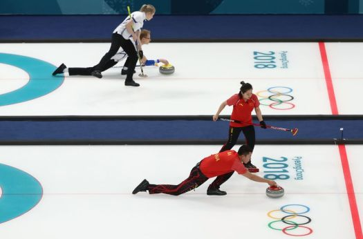 Chinese mixed-doubles curling