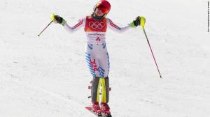 Shiffrin slalom in Pyeongchang