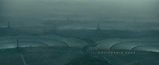 California 2049 from Blade Runner, Oscar winner for Visual Effects