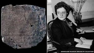 Alice Kobler deciphers Linear B