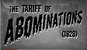 Tariff Abomination video