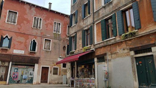 Campo San Palo, Venice, courtyard