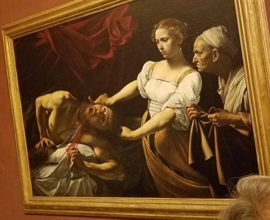 Caravaggio, Judith.