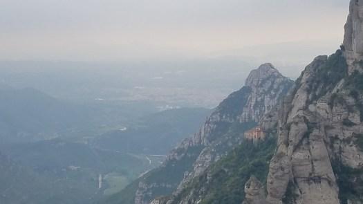 Near Montserrat monastery.