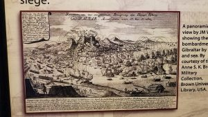 1704 illustration Siege of Gibraltar
