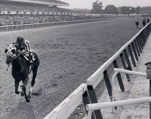 Secretariat wins the 1973 Belmont