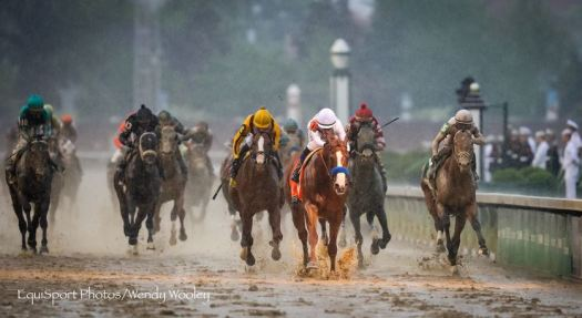 Justify wins Kentucky Derby