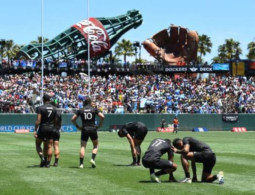 New Zealand rugby at AT&T park